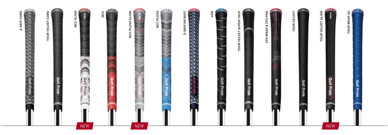 Golf Pride grips 2018