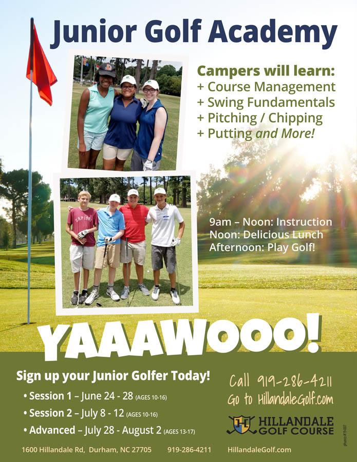 Hillandale Jr Golf Academy