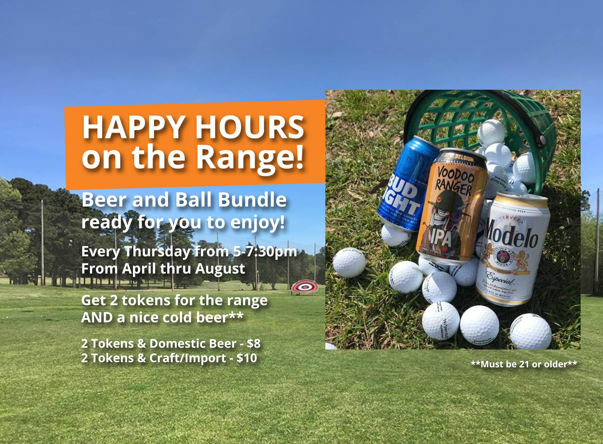 Hillandale Golf Course - Range Happy Hours
