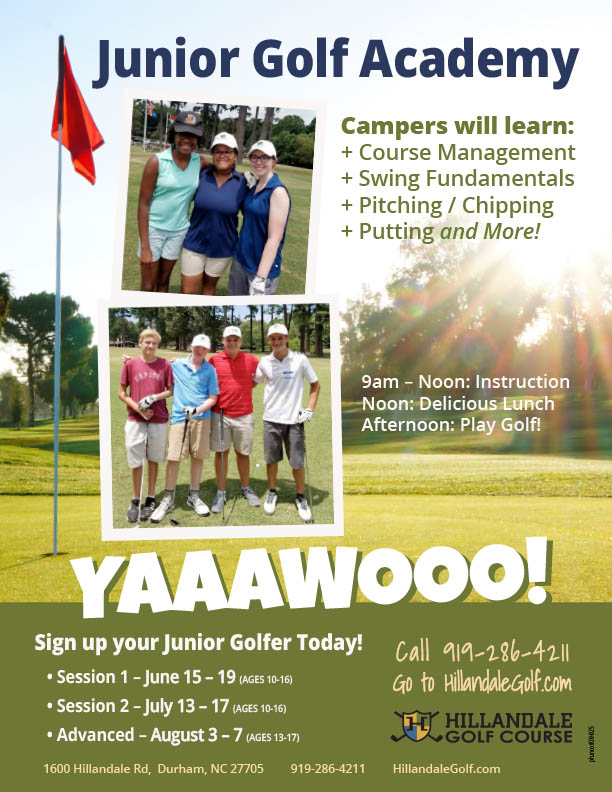 Jr Golf Academy Flyer