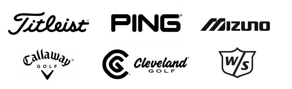 Golf brand logos