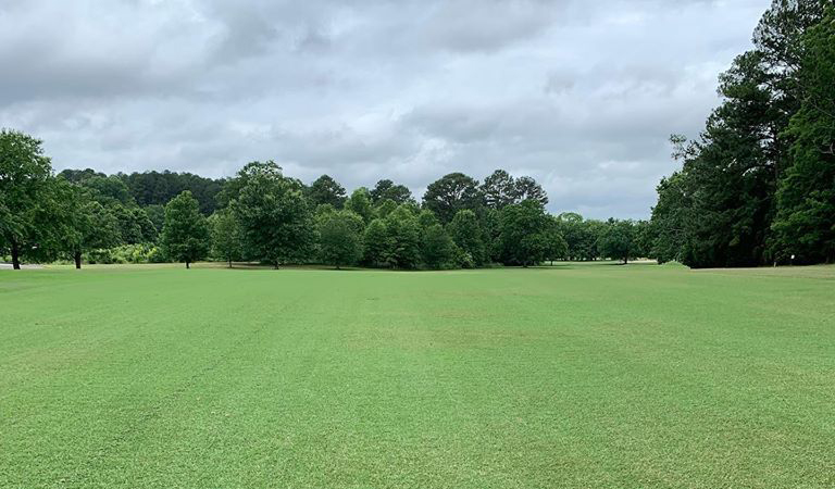 Hillandale 18 Fairway